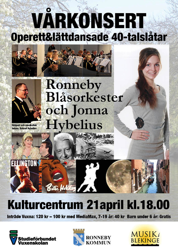 Vårkonsert affisch